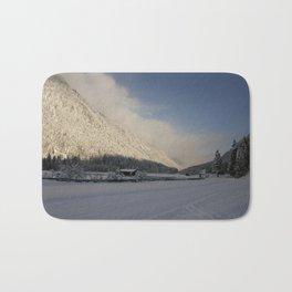 A Peaceful Snow Landsscape Bath Mat