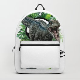 Velociraptor Blue! Backpack