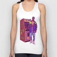 monster Tank Tops featuring Monster Arcade by Mike Wrobel