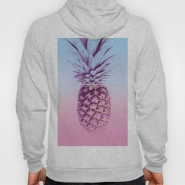Light Blue and Pink Pineapple Hoody