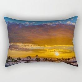 Between the Clouds and Catalina Rectangular Pillow