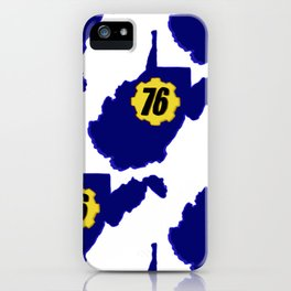 Blue & Gold 76 iPhone Case