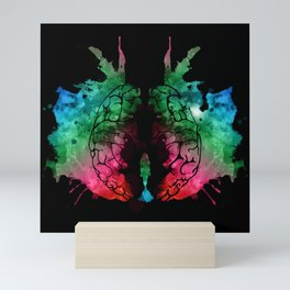 "Butterfly in a Knot, aka ""Rorschach-2"" Mini Art Print"