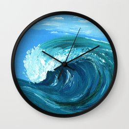 Outer Banks Ripcurl Wall Clock