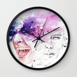 Don't hold your feelings Wall Clock