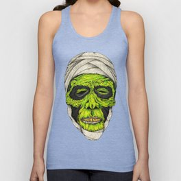 Mummy Head Unisex Tank Top