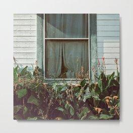 Every window has stories behind it Metal Print