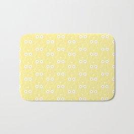 Boobs on Repeat | Lemon Yellow Bath Mat