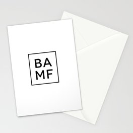 Table of Elements BAMF Stationery Cards