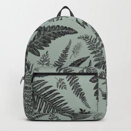 Green Ferns Backpack