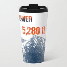 Cities Of America: Denver Travel Mug