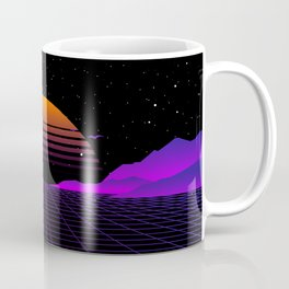 Vaporwave Outrun | Eighties Style Coffee Mug