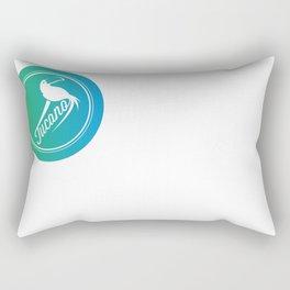 Tucano Style (Trippy Color) Rectangular Pillow