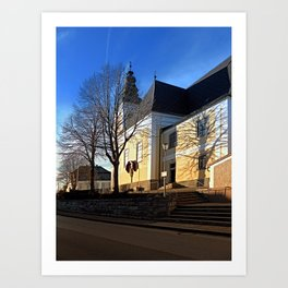 The village church of Sankt Peter am Wimberg II | architectural photography Art Print