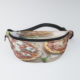 Pizza Slices (91) Fanny Pack