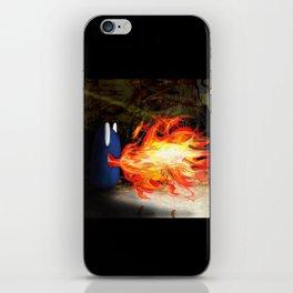 Fire Monster Design iPhone Skin