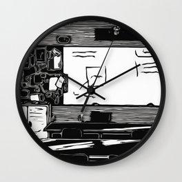 Class Print Wall Clock
