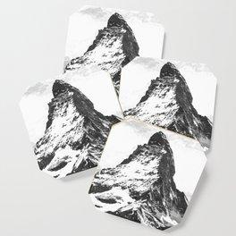 Black and White Mountain Coaster