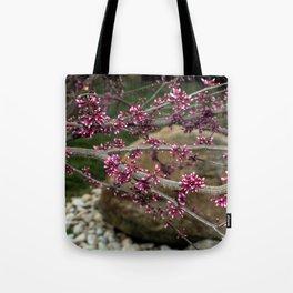 Eastern Redbud Branch Tote Bag