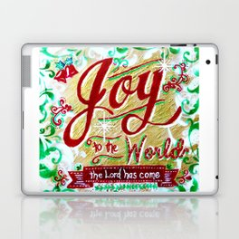 Joy to the World by Jan Marvin Laptop & iPad Skin