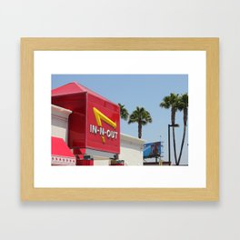 In and Out Framed Art Print