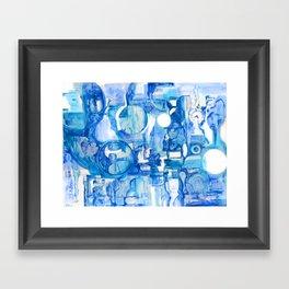 blue III Framed Art Print