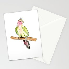 Princess Parrot Stationery Cards