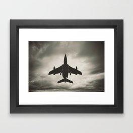 Fighting the Skies Framed Art Print
