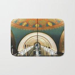Art Deco Fisher Building Downtown Detroit Bath Mat