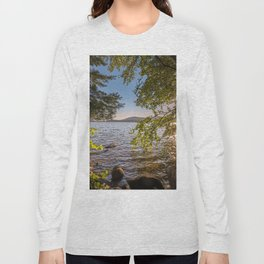 Secret Place By The Lake Long Sleeve T-shirt