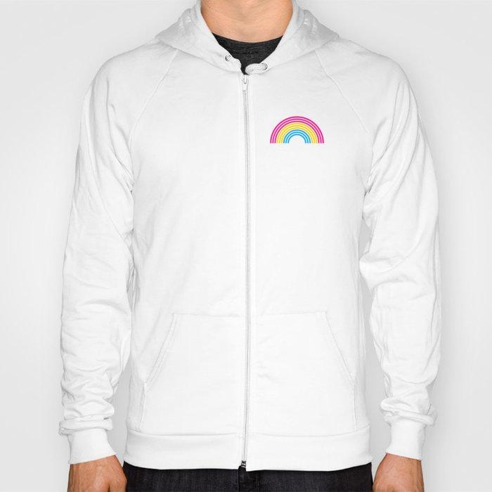 Pansexual Rainbow print LGBTQ Pride Gift Idea Hoody