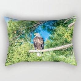 Bird of Prey Rectangular Pillow