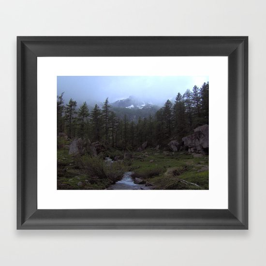 So Peaceful... Framed Art Print