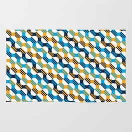 People's Flag of Milwaukee Mod Pattern Rug