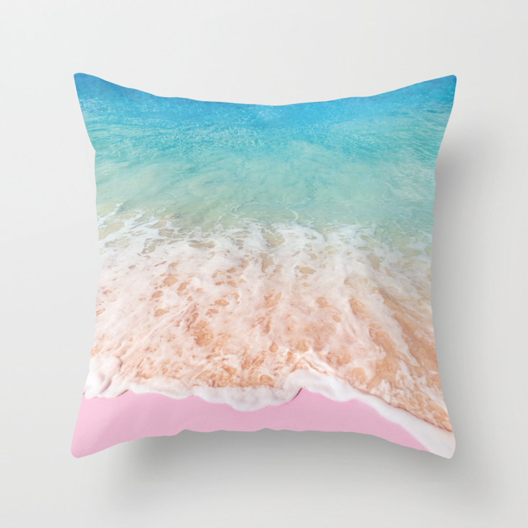 Ipod Pillow Beach Throw Pillows Society6