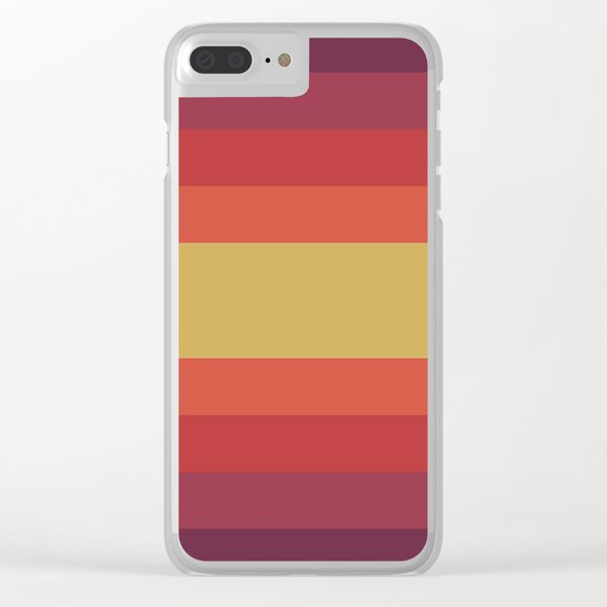 Retro 70's Clear iPhone Case