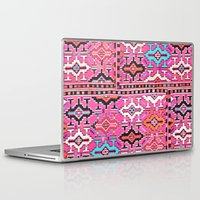kilim Laptop & iPad Skins featuring Aztec Kilim 2 by EllaJo