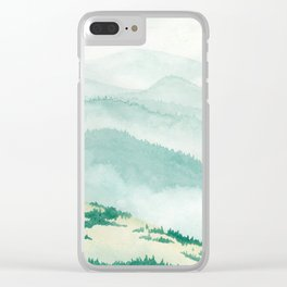 Sonoma: Coleman Valley Road Clear iPhone Case