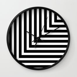Corners Wall Clock