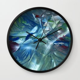 Space is the place Wall Clock