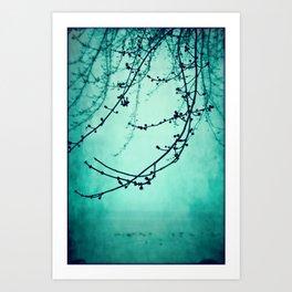 Fog of Green Art Print