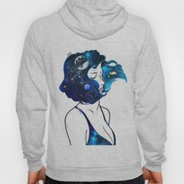 blowing  universe mind. Hoody