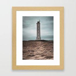 The Malariff Lighthouse Framed Art Print