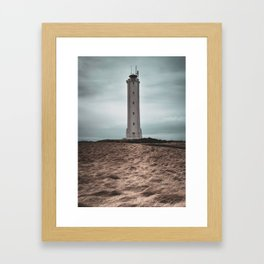 The Malariff Lighthouse Framed Art Print
