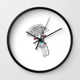 I'm Screwed Wall Clock