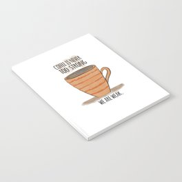 Strong Coffee Notebook