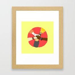 Sorority Framed Art Print