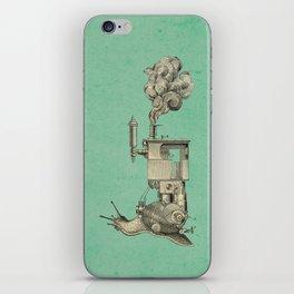 Steamsnail iPhone Skin