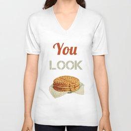 Waffle Unisex V-Neck