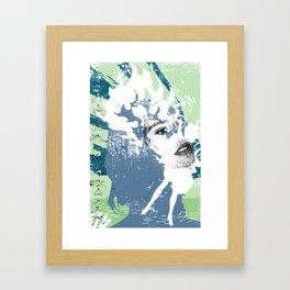 BlowBack Framed Art Print